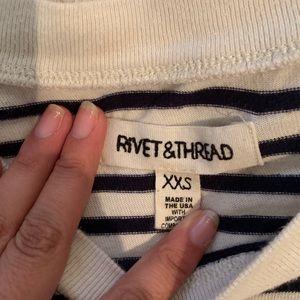 Madewell Tops - Madewell Rivet & Thread Long Sleeve